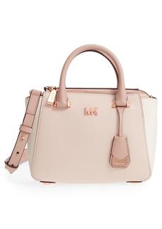 MICHAEL Michael Kors Mini Leather Messenger Bag