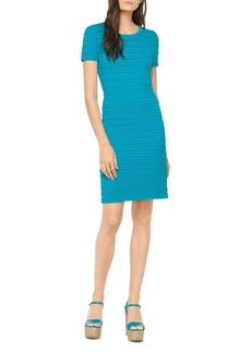 MICHAEL Michael Kors Mini Ruffle-Stripe Dress