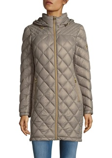 MICHAEL MICHAEL KORS Missy Quilted Puffer Coat