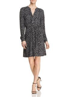 MICHAEL Michael Kors Mixed-Print Shirt Dress