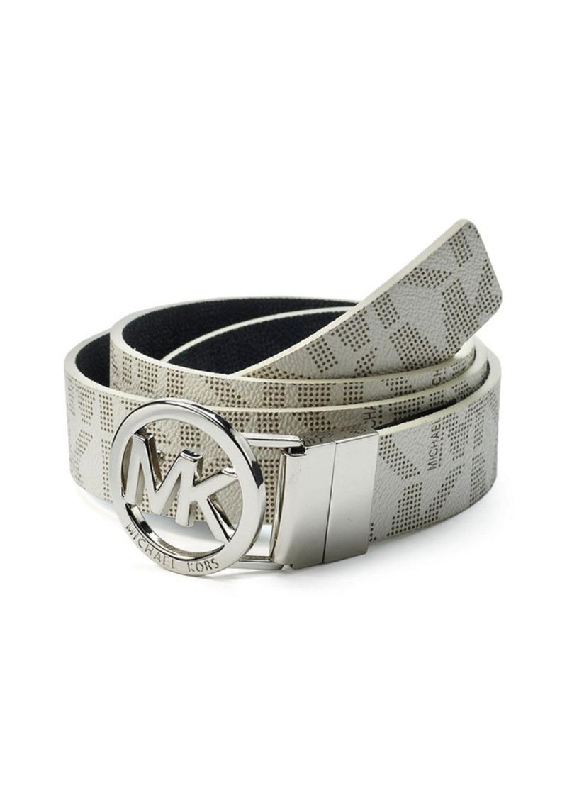 MICHAEL Michael Kors® MK Logo Buckle Reversible Belt