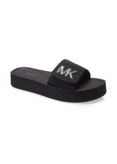 MICHAEL Michael Kors MK Platform Slide Sandal (Women)