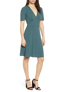 MICHAEL Michael Kors Mod Geo Fit & Flare Dress