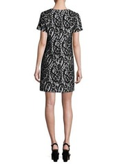 MICHAEL Michael Kors Mod Short-Sleeve Lace-Overlay T-Shirt Dress