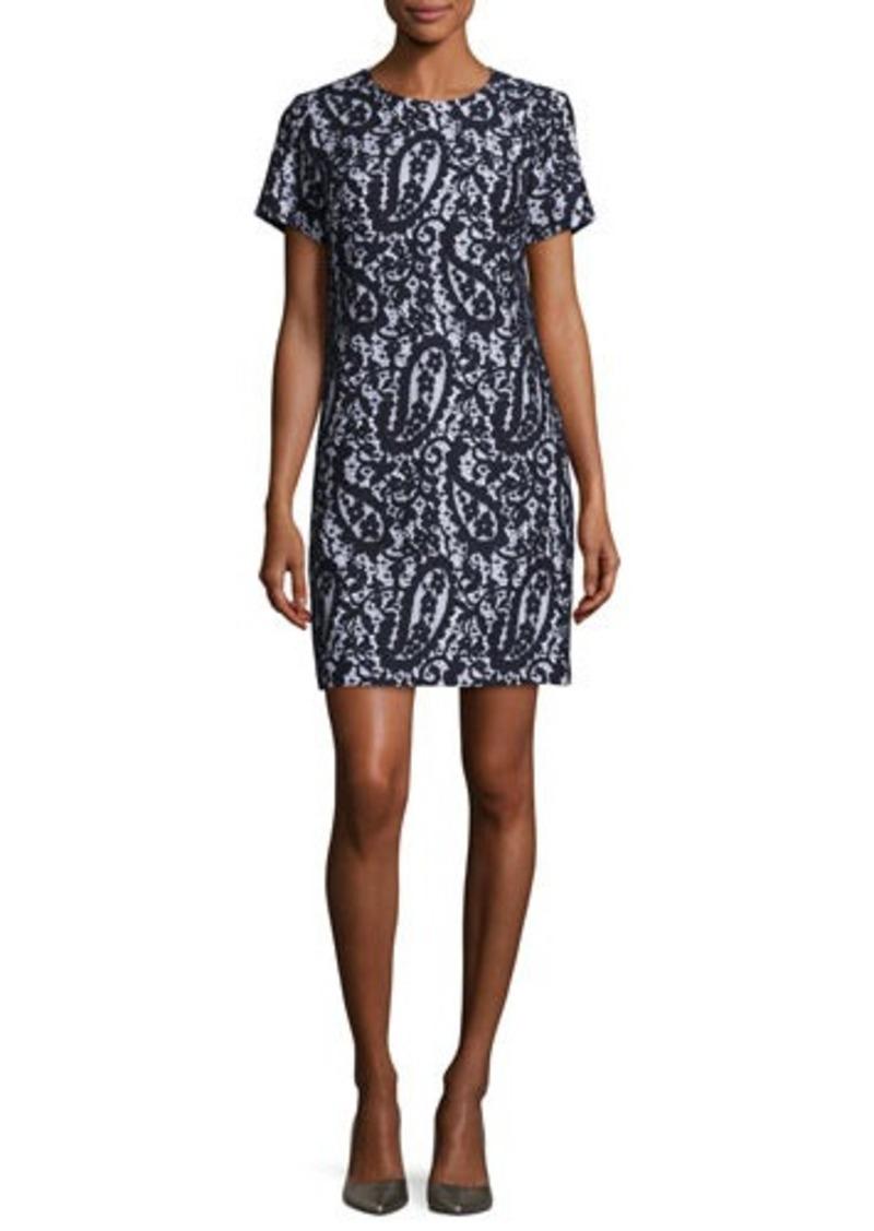 MICHAEL Michael Kors Mod Short-Sleeve Lace-Overlay T-Shirt Dress