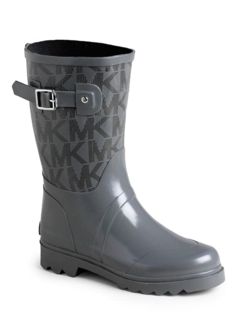 8ed580b9ecbbd Monogram Rain Boots