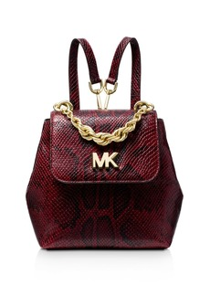 MICHAEL Michael Kors Mott Mini Twist Chain Messenger Backpack