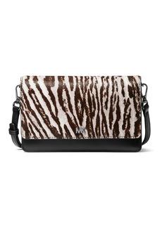 MICHAEL Michael Kors Mott Zebra-Print Smartphone Crossbody