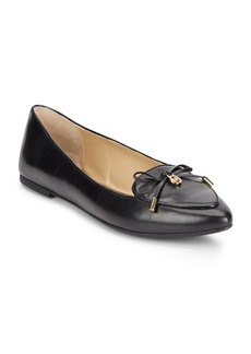 MICHAEL MICHAEL KORS Nancy Leather Point Toe Flats