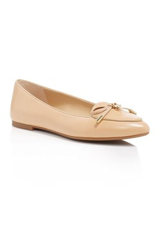 MICHAEL Michael Kors Nancy Pointed Toe Loafer Flats