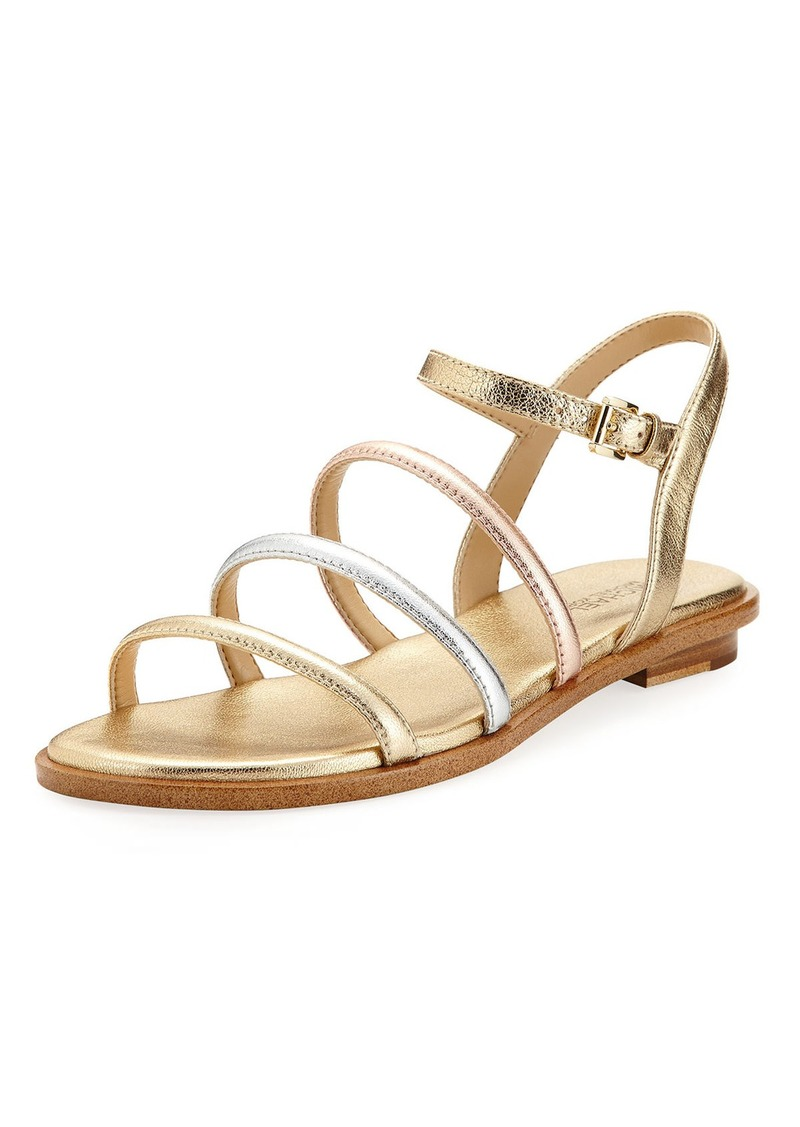 43f6e97a42ae MICHAEL Michael Kors MICHAEL Michael Kors Nantucket Strappy Flat ...