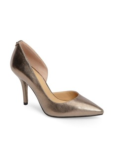 MICHAEL Michael Kors Nathalie Demi d'Orsay Pointy Toe Pump (Women)