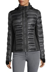 MICHAEL Michael Kors Neo Hooded Puffer Coat