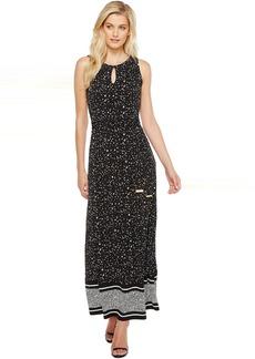 MICHAEL Michael Kors Nora Border Maxi Dress