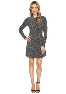 MICHAEL Michael Kors Norfolk Long Sleeve Flare Dress