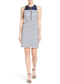 MICHAEL Michael Kors Norwood Stripe Neoprene Sheath Dress