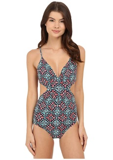 MICHAEL Michael Kors Nui Cut Out Maillot One-Piece