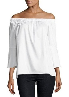 MICHAEL Michael Kors Off-the-Shoulder Bell-Sleeve Top