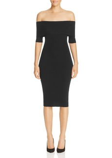 MICHAEL Michael Kors Off-the-Shoulder Sweater Dress