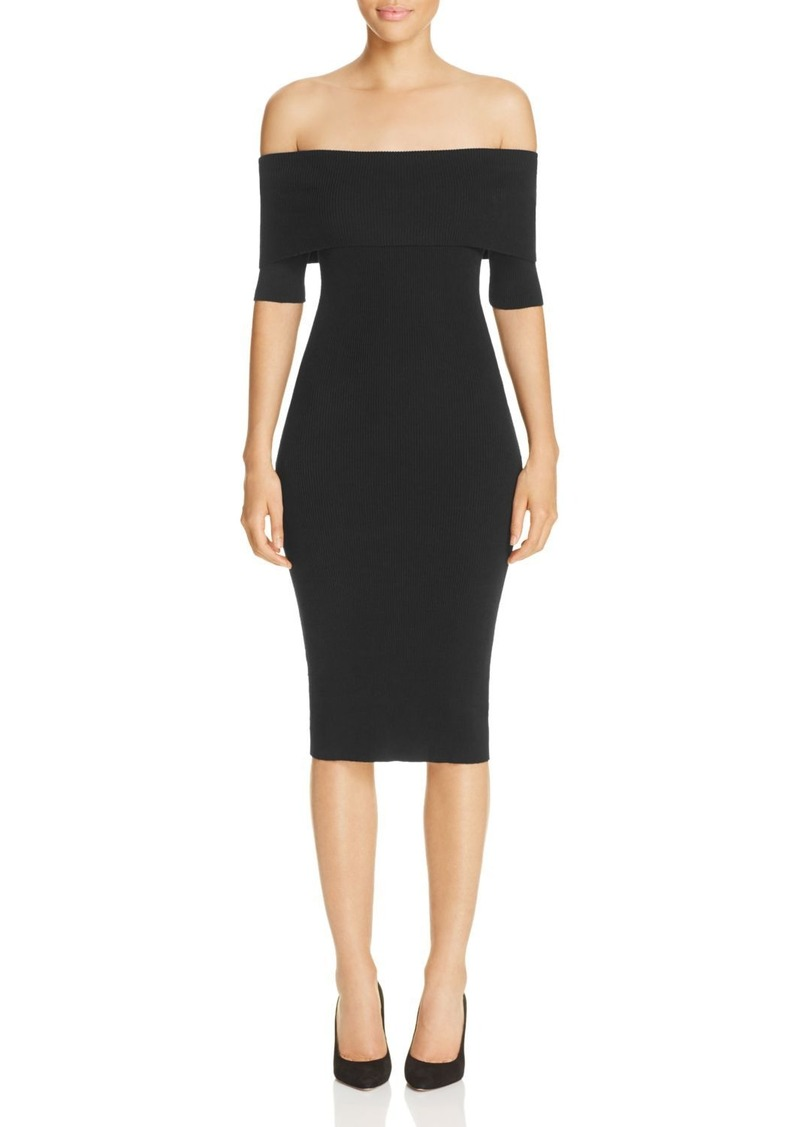 MICHAEL Michael Kors Off-the-Shoulder Sweater Dress