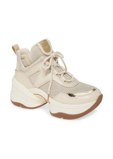 MICHAEL Michael Kors Olympia Sneaker (Women)