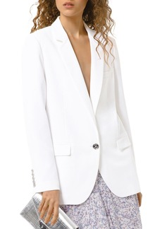 MICHAEL Michael Kors One-Button Blazer