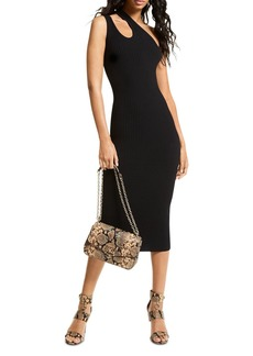 MICHAEL Michael Kors One Shoulder Cutout Dress
