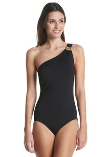 MICHAEL Michael Kors® One Shoulder One-Piece Maillot