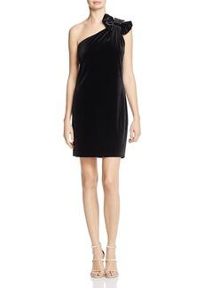 Michael Michael Kors One-Shoulder Velvet Dress - 100% Exclusive