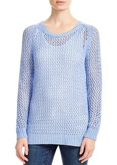 MICHAEL Michael Kors Open Knit Sweater