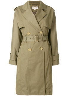 Michael Michael Kors oversized trench coat - Green