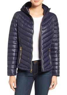 MICHAEL Michael Kors Packable Down Jacket