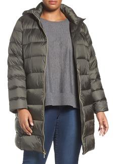 MICHAEL Michael Kors Packable Down Long Coat (Plus Size)