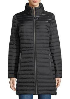 MICHAEL Michael Kors Packable Hidden-Hood Quilted Puffer Jacket