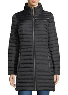 MICHAEL Michael Kors Packable Hidden-Hood Quilted Puffer Jacket