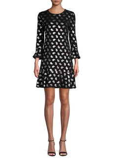 MICHAEL Michael Kors Paisley A-Line Dress