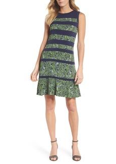 MICHAEL Michael Kors Paisley Paneled Dress
