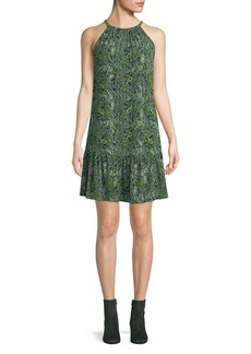 MICHAEL Michael Kors Paisley-Print Sleeveless Dress