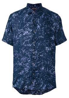 Michael Michael Kors palm-print shirt - Blue