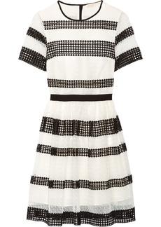 MICHAEL Michael Kors Paneled crocheted lace mini dress