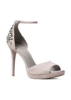 MICHAEL Michael Kors Patti Embellished Platform High Heel Sandals