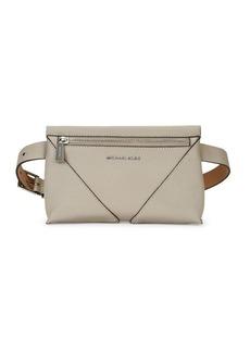 MICHAEL Michael Kors Pebbled Leather Belt Bag