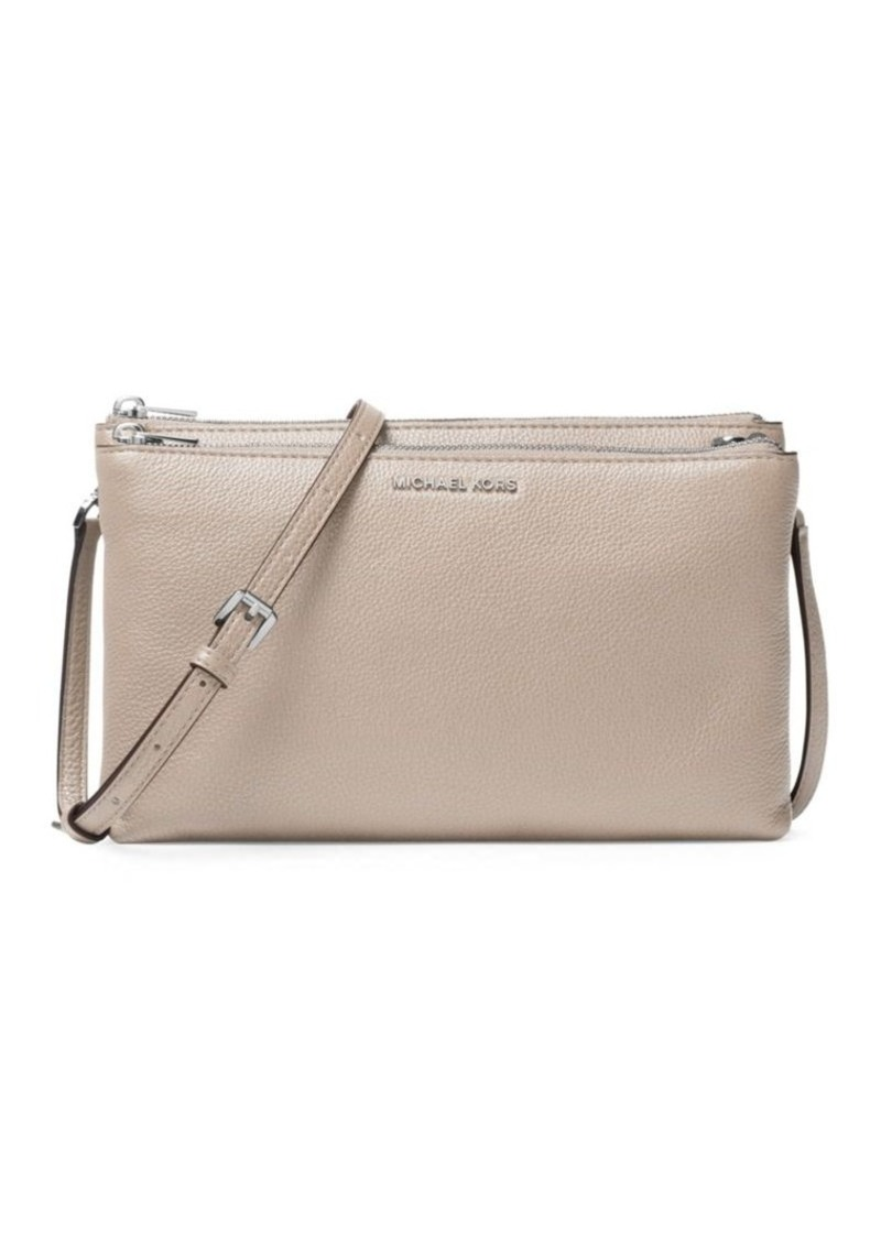 407227feaaa3d8 MICHAEL Michael Kors MICHAEL MICHAEL KORS Pebbled Leather Crossbody ...