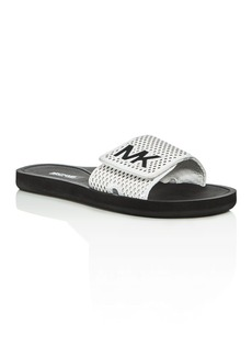 MICHAEL Michael Kors Perforated Pool Slide Sandals