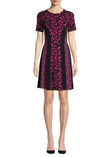 MICHAEL Michael Kors Petal Contour A-Line Dress