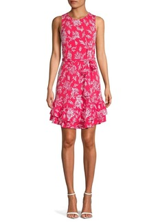 MICHAEL Michael Kors Petite Printed Shift Dress