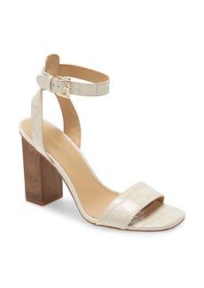 MICHAEL Michael Kors Petra Block Heel Sandal (Women)
