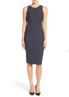 MICHAEL Michael Kors Pinstripe Sleeveless Body-Con Dress (Regular & Petite)