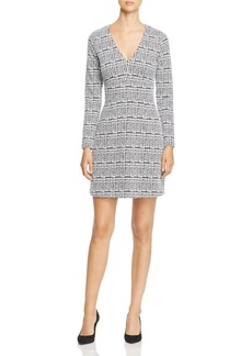 MICHAEL Michael Kors Plaid Jacquard Dress