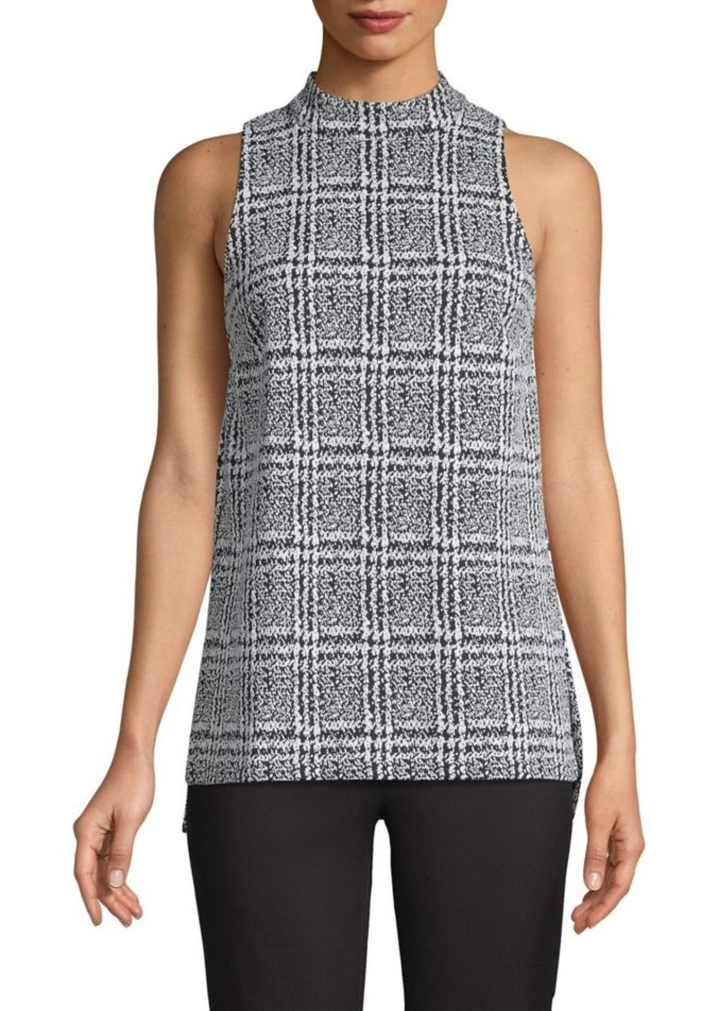 MICHAEL Michael Kors Plaid Sleeveless Top